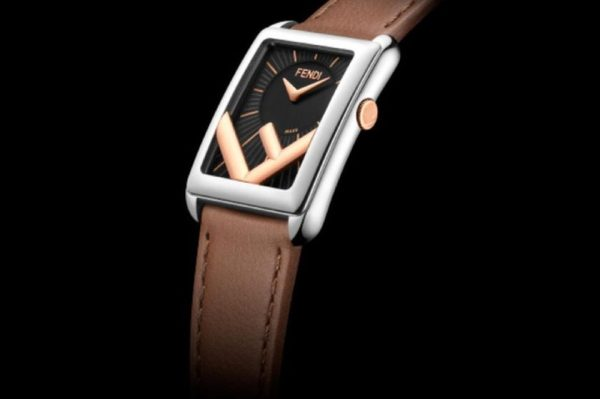 Fendi Timepieces presents the New Run Away Rectangle