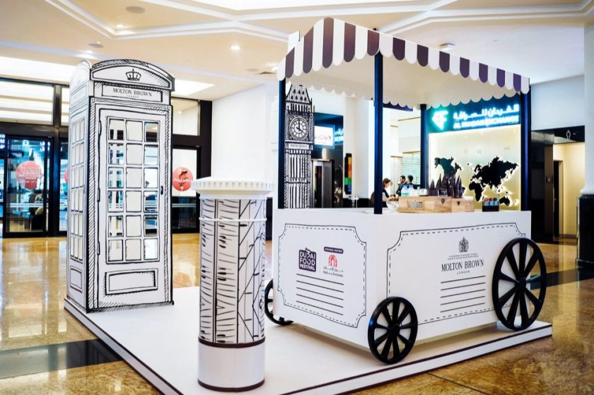 Mall of the Emirates presents the region's first ever food festival curated by beauty and luxury brands
