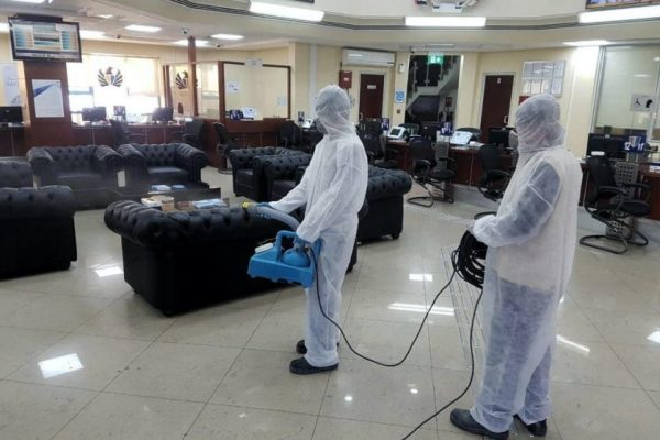 Building sterilization and occupational safety programs for Dubai Customs inspectors