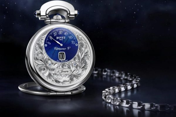 AmadéoFleurier Complications – Virtuoso V Jumping hours, retrograde minutes and reversed hand-fitting