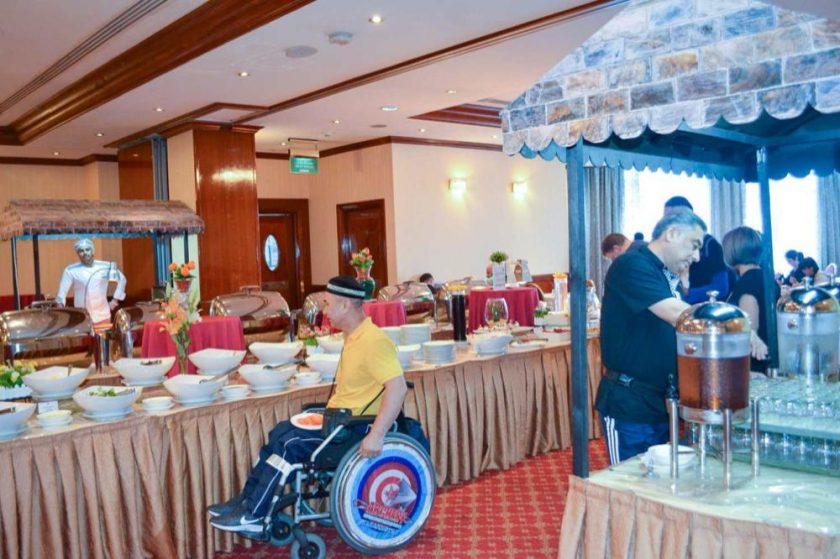 مركز ورزيدنس البستان يستضيف المشاركين في الدورة السادسة منبطولة فزاع الدولية للقوس والسهم