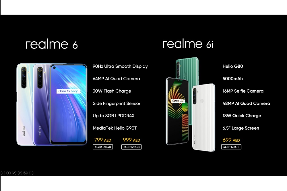 realme Lanches Its All New, realme 6 and 6i