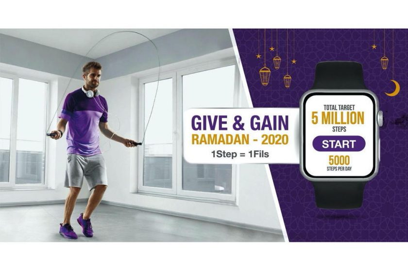 Relay For Life-UAE concludes 'Give & Gain 2020 Ramadan challenge' Employees of participating companies got their daily quota of 5,000 steps to reach the targeted 5 million steps, raising AED 50K for cancer treatment