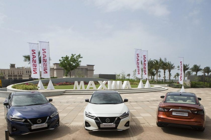 Nissan Maxima Scoops Up Middle East Car of the Year