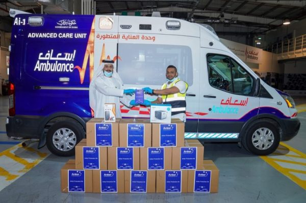 Anker Innovations Donates Anker Protection Kits to First Responders at Dubai Ambulance