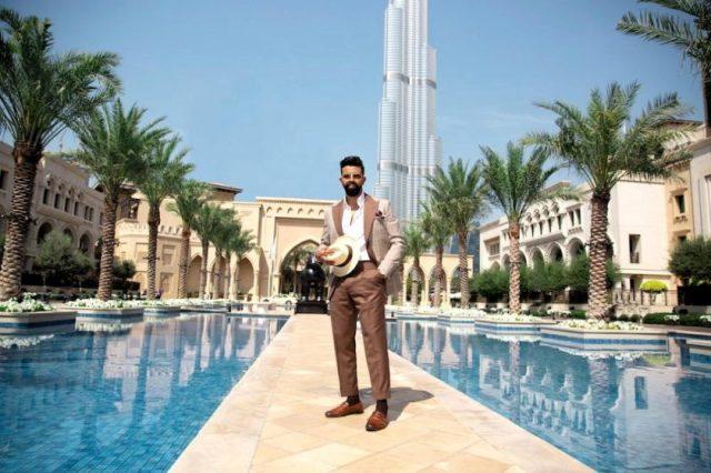 KACHINS PRESENTS SS'20 LOOKS WITH UAE BASED BLOGGER, RASHWAN