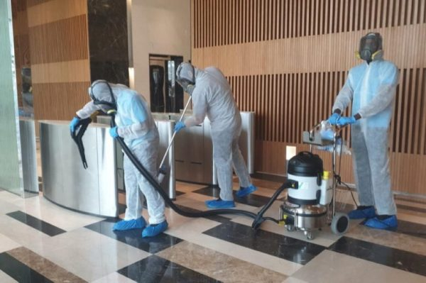 Increased Demand for Khidmah's Disinfection and Sanitisation Services from Commercial Entities