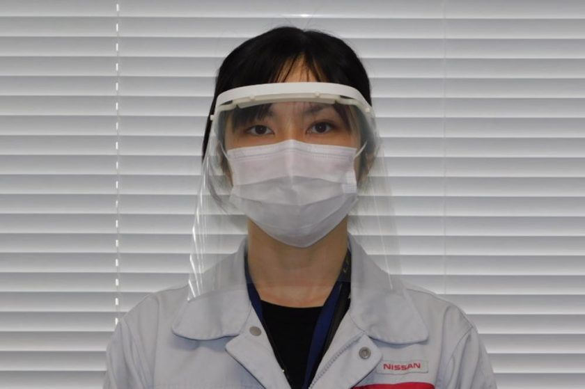 Nissan to make face shields for health care workers in Japan Plan calls for making 2,500 shields a month; company studying additional ways to support fight against COVID-19