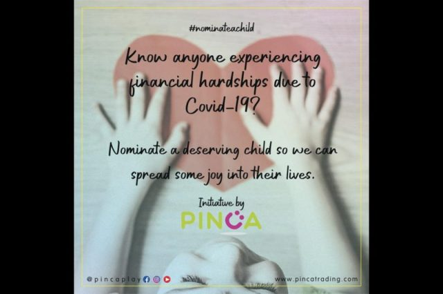 Nominate a deserving child and spread joy