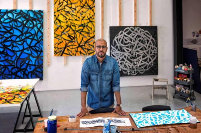 Artists eL Seed and Diaa Allam Collaborated in Live-streamed Art Performance in Abu Dhabi Music & Arts Foundation's First-ever Ramadan Series