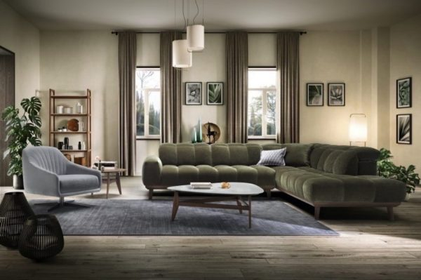 Live in absolute comfort with Natuzzi sofas during lockdown