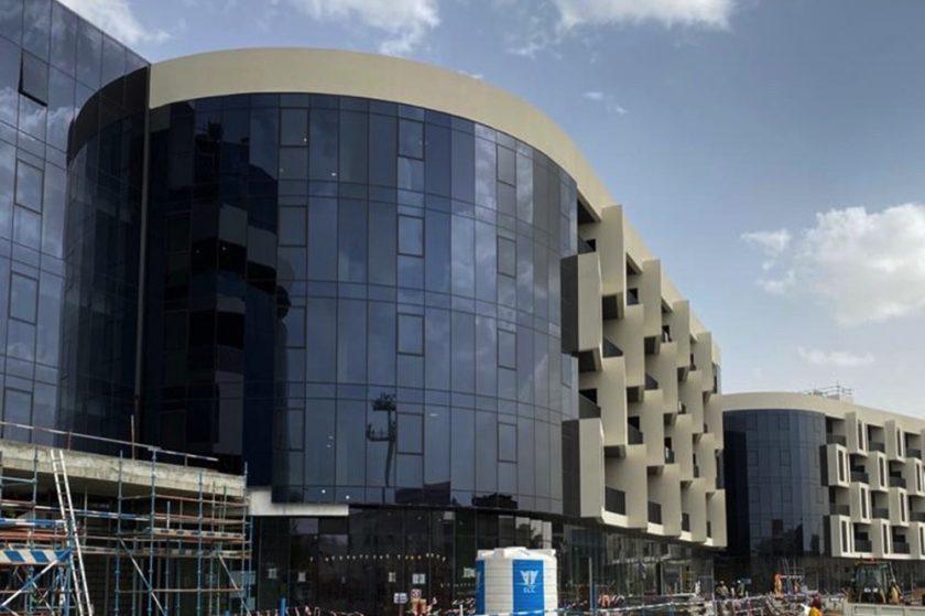"""دبي للاستثمار تعلن عن تقدم الأعمال في """"الملتقى أفنيو"""""""