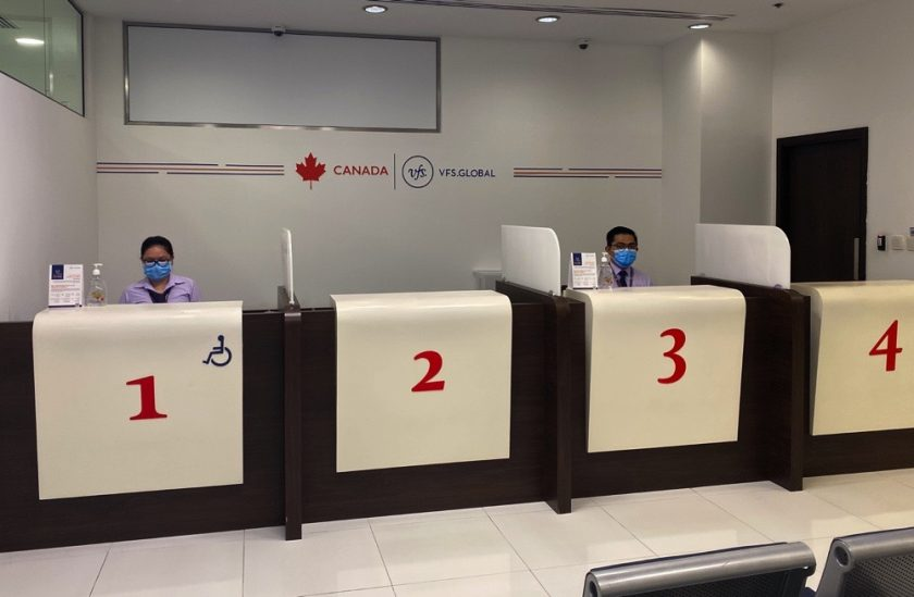 The Canada Visa Application Centre reopens in Dubai