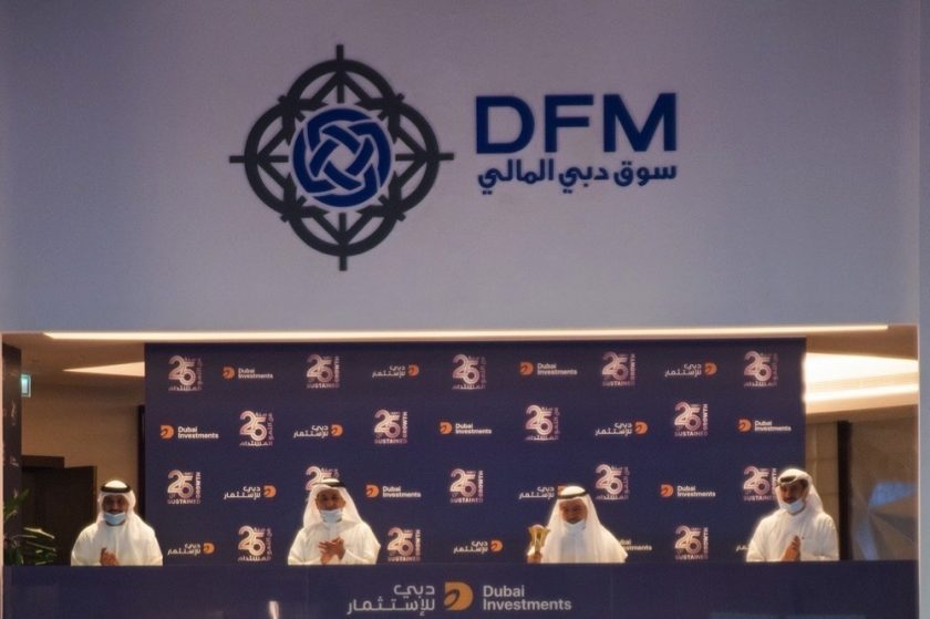 Dubai Investments celebrates 25th anniversary with DFM bell