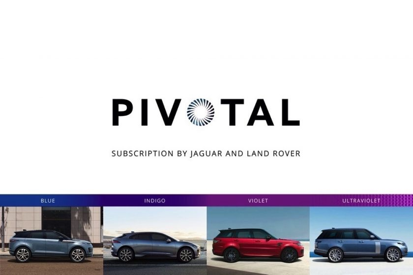 CUSTOMERS CHOOSE WITH JAGUAR LAND ROVER AND PIVOTAL SUBSCRIPTION GO ELECTRIC OR GO OFF ROAD