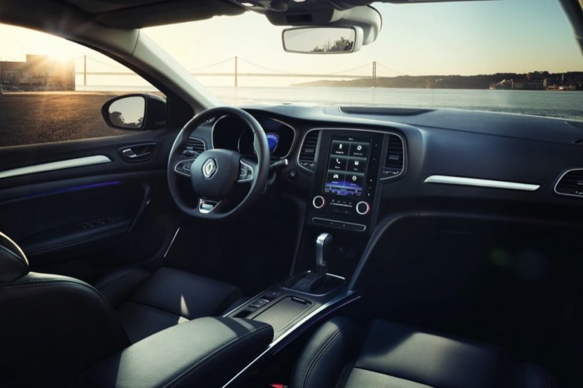 Arabian Automobiles: Drive Home Renault Megane