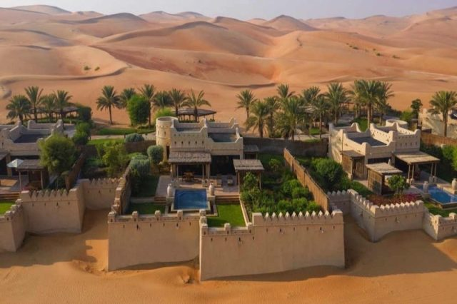 The Legendary Palace Returns — Qasr Al Sarab Desert Resort