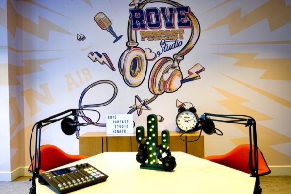 ,The Rove Podcast Studio is Here