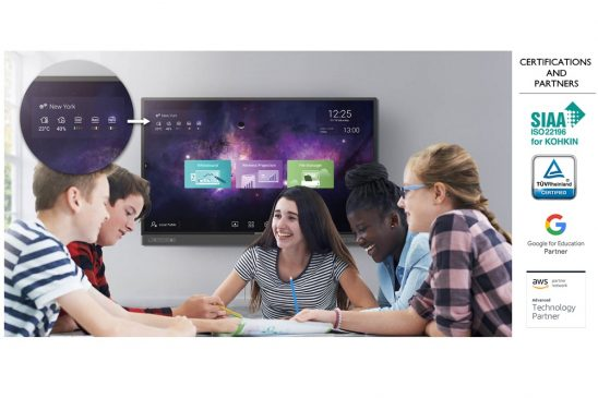 BenQ Unveils New RP02 Series Interactive Flat Panels With Advanced ClassroomCareTM Technology and the Third Generation of Germ Resistant Screens for Learning Post Covid-19