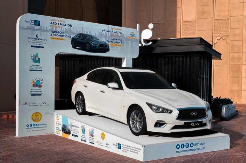 INFINITI of Arabian Automobiles giving away six Q50 cars309