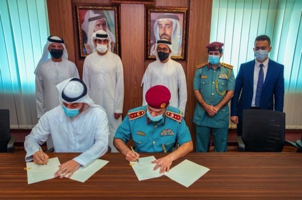 Sharjah Civil Defence signs agreement with Sahab Smart Solutions