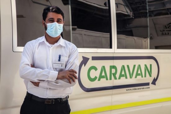 Caravan Connecting you with the right buses,