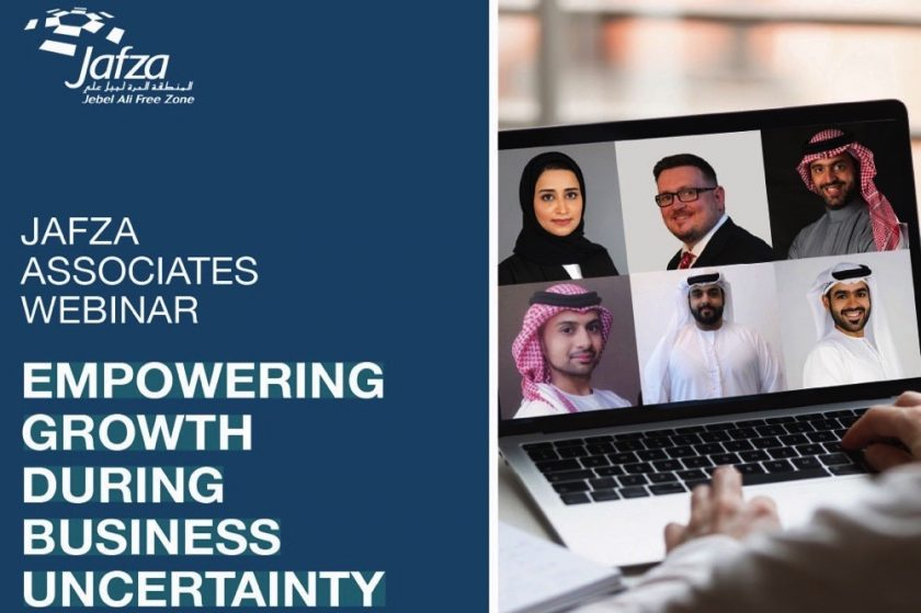 JAFZA WEBINAR HIGHLIGHTS THE WAY FORWARD