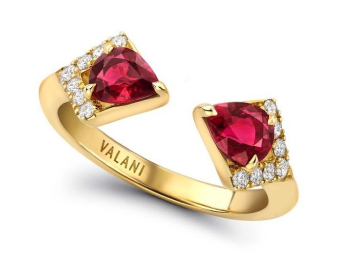 Valani Atelier x Gemfields exclusively for Walk for Giants