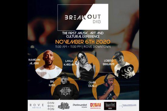 Breakout DXB Ready to Reinvigorate  Dubai's Music, Culture