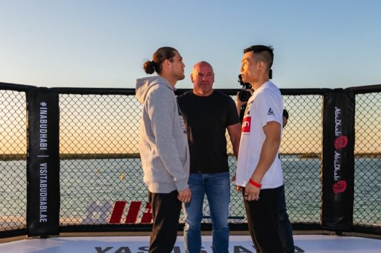 Korean Zombie and T City Face Off on Yas Beach
