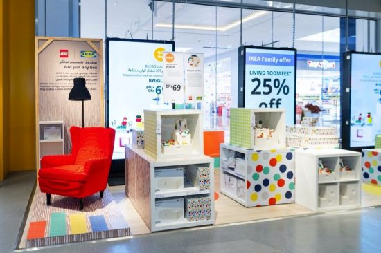 Play, display and replay: IKEA® and the LEGO Group's creation
