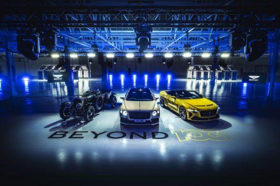 Bentley Motors OUTLINES Beyond100 STRATEGY,