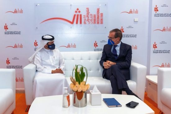 SBA Chairman and Italian Ambassador meet at SIBF 2020