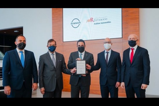 Arabian Automobiles Nissan awarded Outstanding Overall Performance