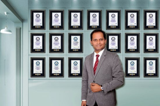 highest Guinness World Records Holder in GCC and India