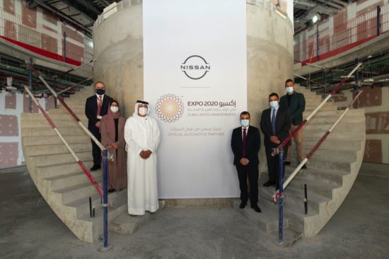 Site of Nissan venue handed over at Expo 2020's Mobility Pavilion