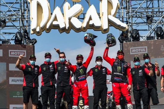كيفين بينافيدس يحقق المركز الأول بسباق رالي داكار