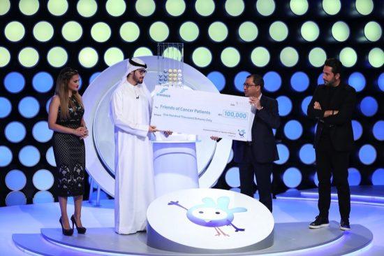 إي وينجز تتبرع بـ 100 ألف درهم لجمعية أصدقاء مرضى السرطان