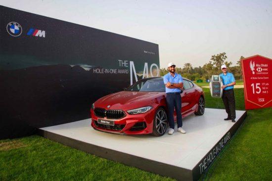 Abu Dhabi Motors drives golf in the capital