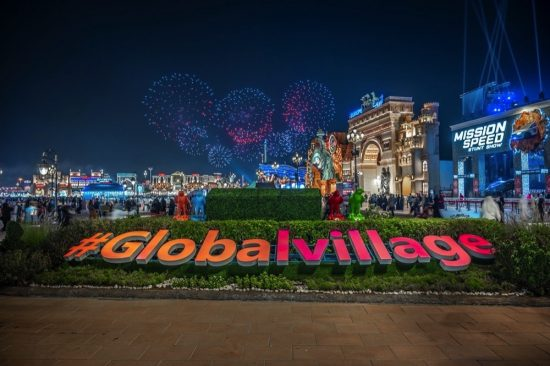 Global Village lights up Dubai skies to celebrate New Year 2021
