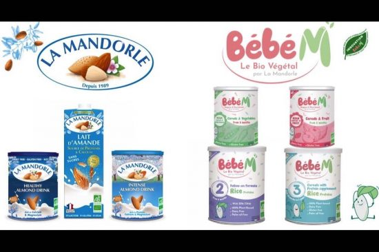 100% Organic and Plant Based brands La Mandorle