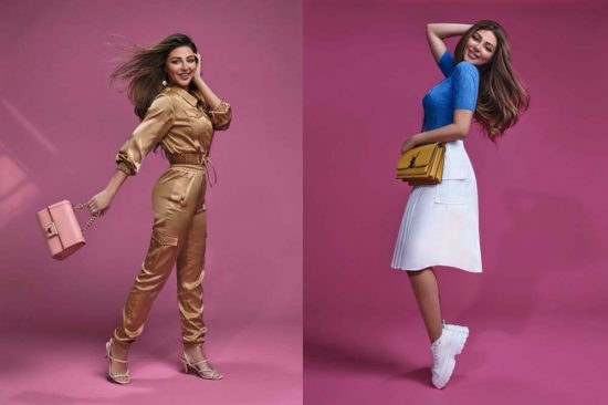 Queen of Stage Myriam Fares endorsed 2021 Spring collection