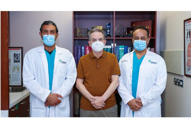 نجاح عملية جراحية خطرة لاستئصال البنكرياس والاثنا عشر في المستشفى الأمريكي بدبي