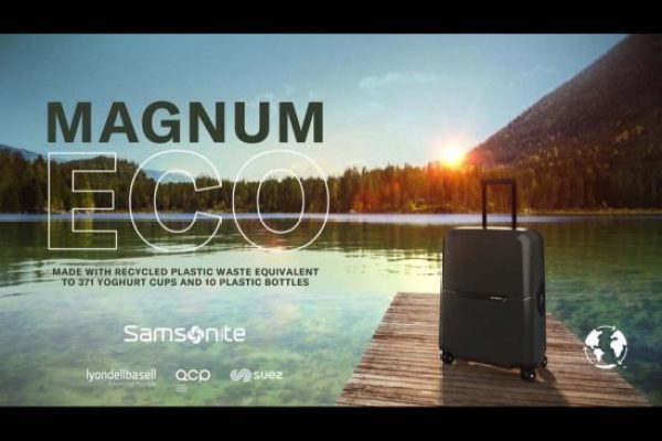 Samsonite Unveils Sustainable 'Magnum Eco'