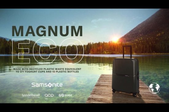 Samsonite Unveils Sustainable 'Magnum Eco'