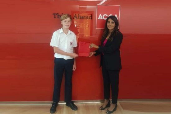 Dubai Student Wins Title of ACCA Middle East