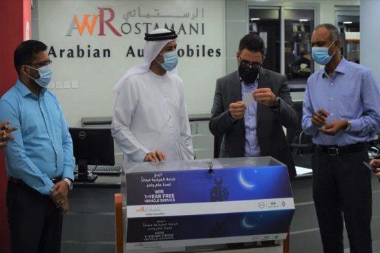 العربية للسيارات تعلن عن منح 25 عميلاً خدمة مجانية