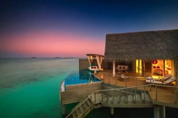 MILAIDHOO ISLAND MALDIVES RANKS 'BEST OF THE BEST'