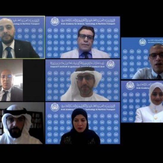 الأكاديمية العربية للعلوم والتكنولوجيا والنقل البحري فرع الشارقة تشارك في معرض التخصصات الجامعية