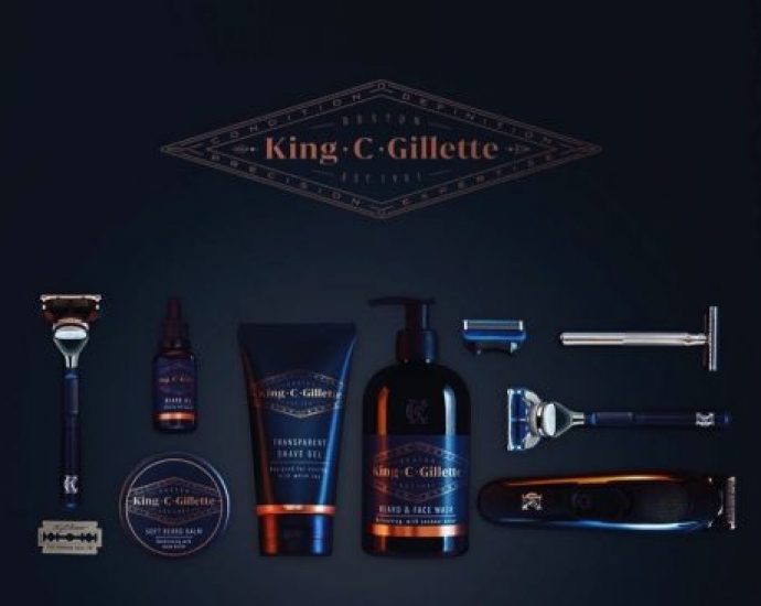 King C. Gillette is here to revolutionize the male grooming experience